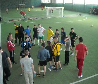 Колежани от втори курс МОР станаха първенци на футболния турнир на КИА