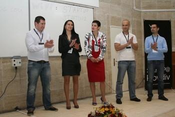 Наша абсолвентка с награда от конференцията StartUP@Plovdiv 2011