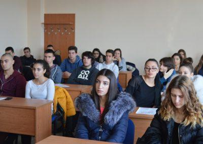 Открита лекция за ученици във ВУСИ-1