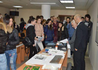 Открита лекция за ученици във ВУСИ-3