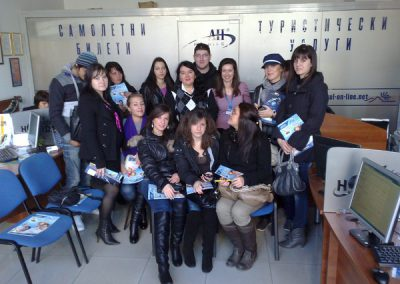 """Студенти от специалност """"Туризъм"""" на практика-2"""