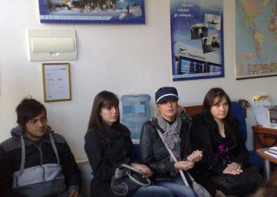 """Студенти от специалност """"Туризъм"""" на практика-3"""