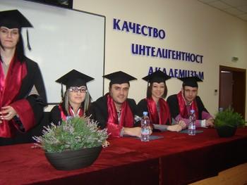354 абсолвенти от Икономическият колеж получиха своите дипломи