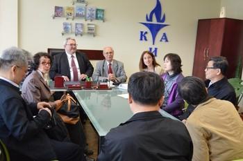 Делегация на Китайската академия за обществени науки посети КИА