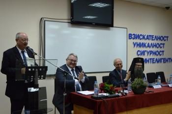 Министърът на образованието проф. Тодор Танев откри учебната 2015/2016 година във Висшето училище по сигурност и икономика (СНИМКИ)