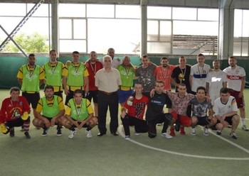 Отборът на ПУ спечели футболния турнир, организран от КИА