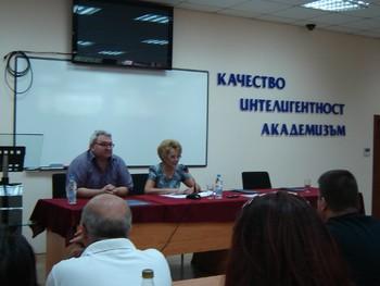 Среща с топ журналистката Валерия Велева в КИА