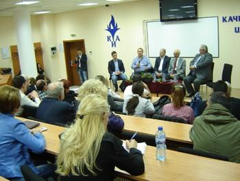 Студенти и преподаватели на КИА разговаряха с представители на Реформаторския блок