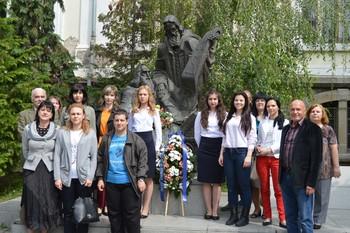 ВУСИ почете светите равноапостоли Кирил и Методий