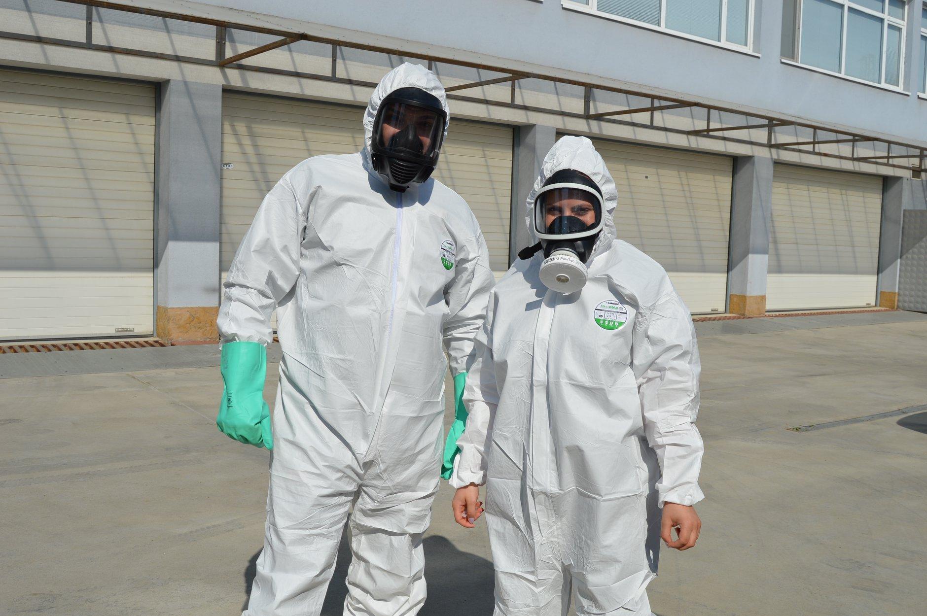 """Практически занятия в """"Национална сигурност"""" - Защитни облекла 0007"""