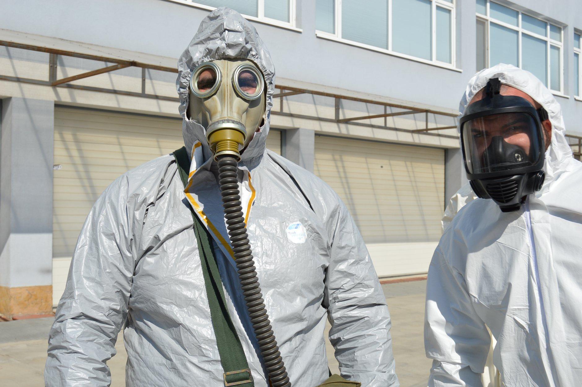 """Практически занятия в """"Национална сигурност"""" - Защитни облекла 0011"""