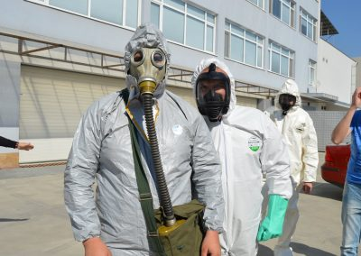 """Практически занятия в """"Национална сигурност"""" - Защитни облекла 0012"""