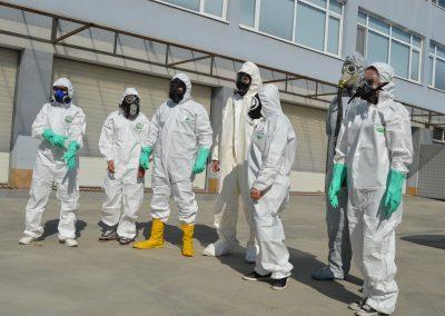 """Практически занятия в """"Национална сигурност"""" - Защитни облекла 0014"""