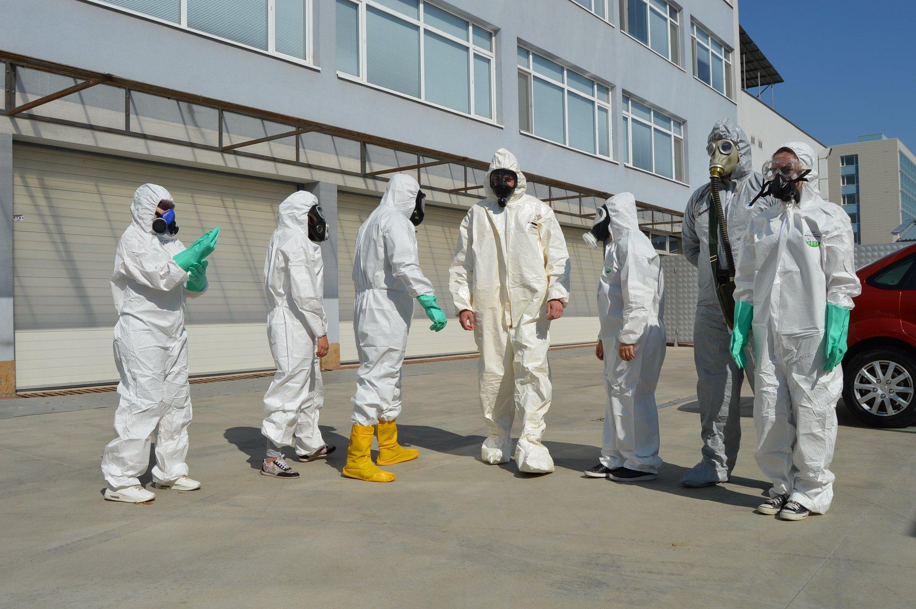 """Практически занятия в """"Национална сигурност"""" - Защитни облекла 0015"""