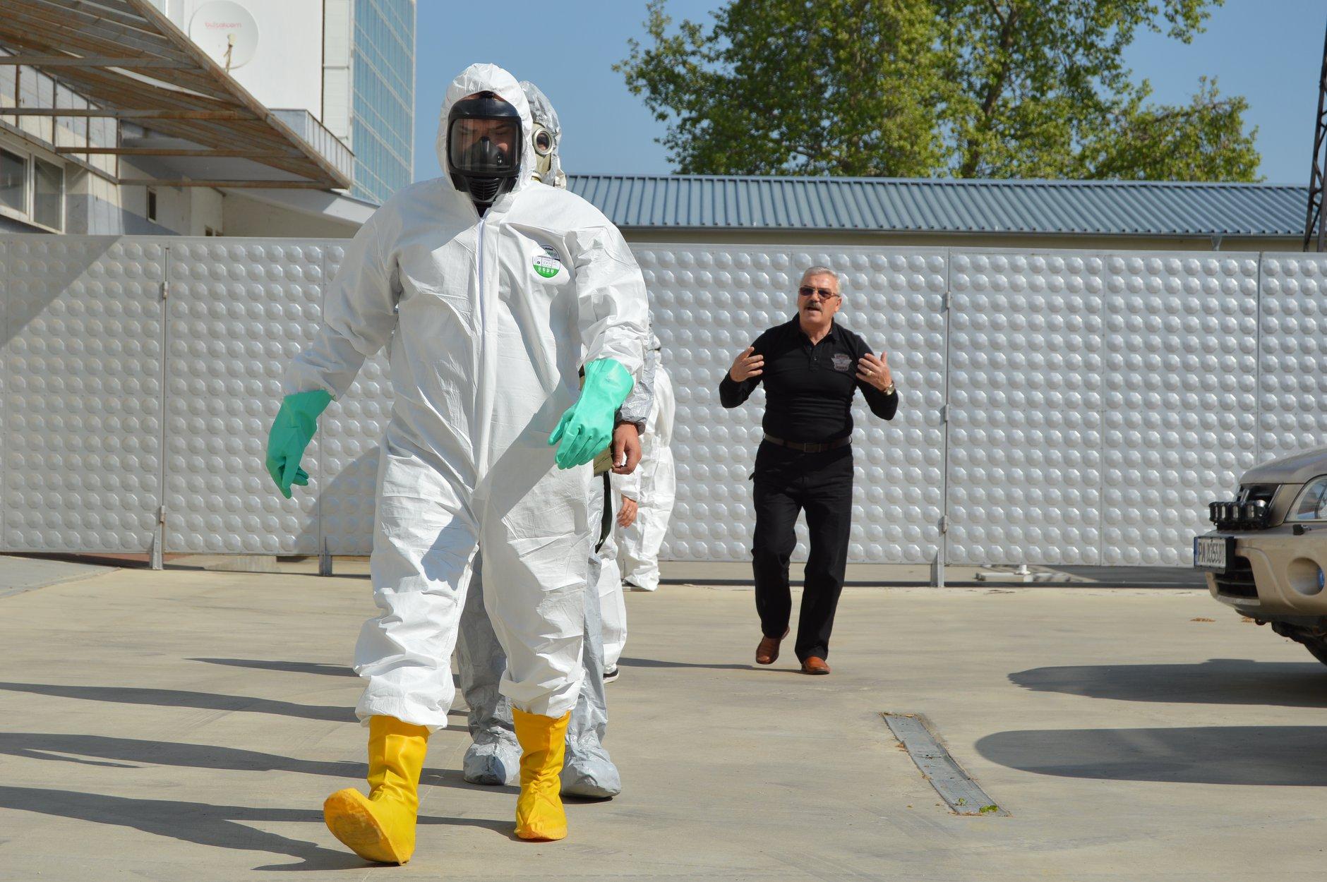 """Практически занятия в """"Национална сигурност"""" - Защитни облекла 0018"""