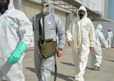 """Практически занятия в """"Национална сигурност"""" - Защитни облекла 0019"""