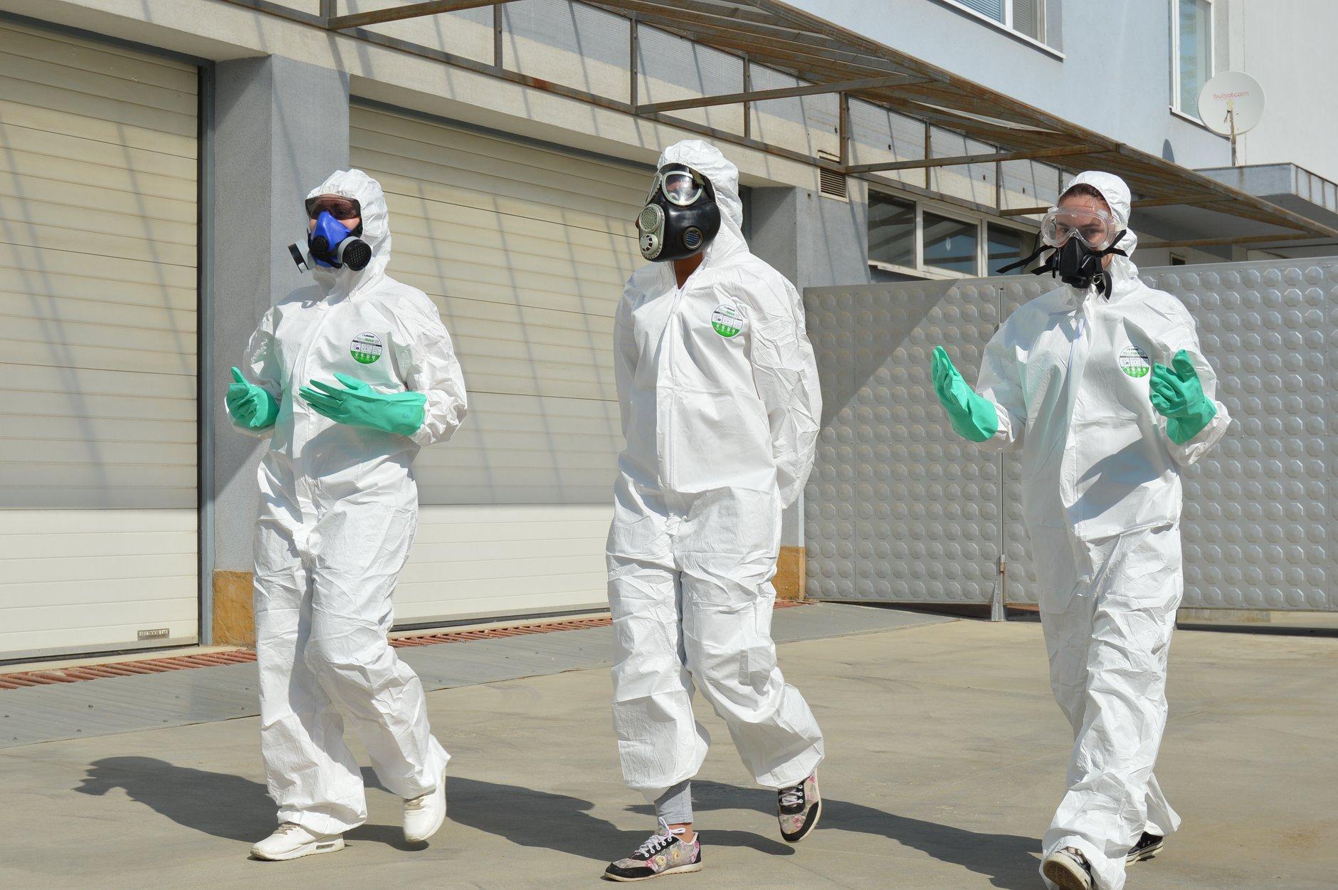 """Практически занятия в """"Национална сигурност"""" - Защитни облекла 0022"""
