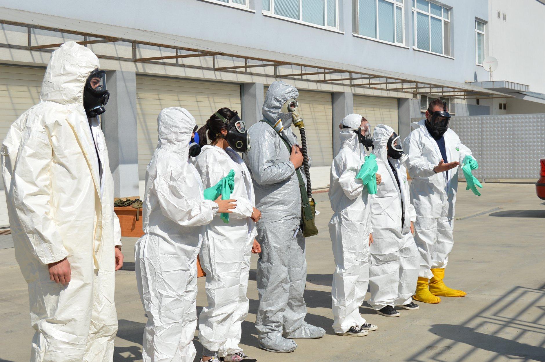 """Практически занятия в """"Национална сигурност"""" - Защитни облекла 0025"""