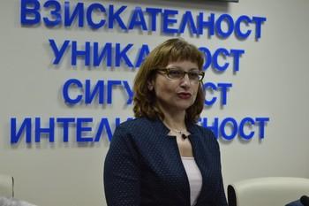 """Гинка Конярска: """"Благодаря на студентите на ВУСИ за възможността да участвам в организираната от тях кръгла маса"""""""