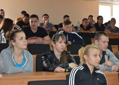 Бригаден генерал Явор Матеев с публична лекция във ВУСИ-2