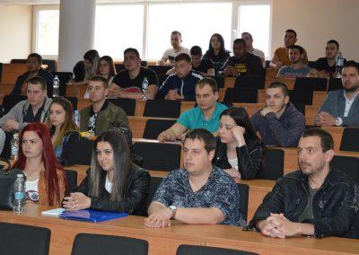 Бригаден генерал Явор Матеев с публична лекция във ВУСИ-3