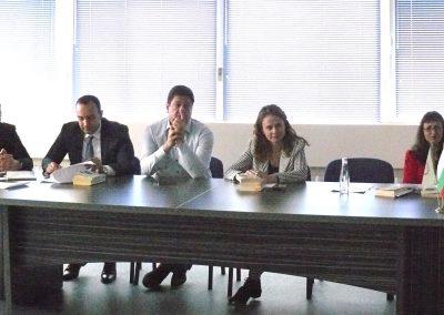 Студенти на ВУСИ посетиха Пловдивската прокуратура в Деня на Конституцията и юриста