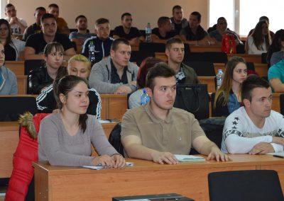 Бригаден генерал Явор Матеев с публична лекция във ВУСИ-4