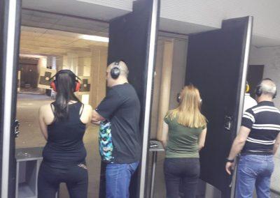 Студенти на ВУСИ проведоха теренни изследвания и тактически стрелби с пистолет - 5