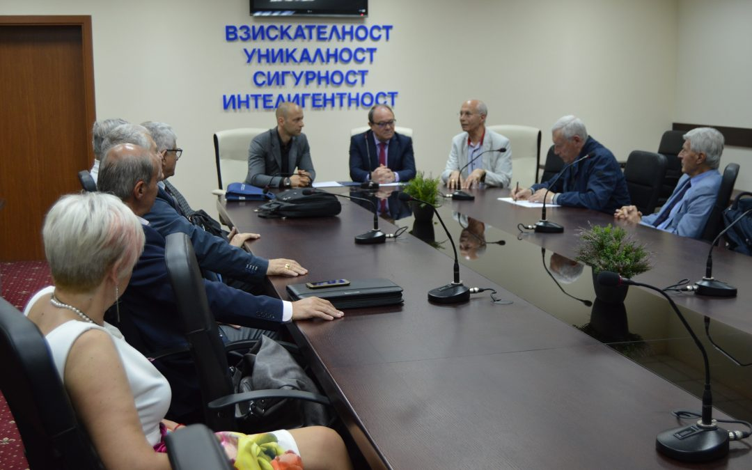 ВУСИ сключи рамково споразумение с Българската академия на науките