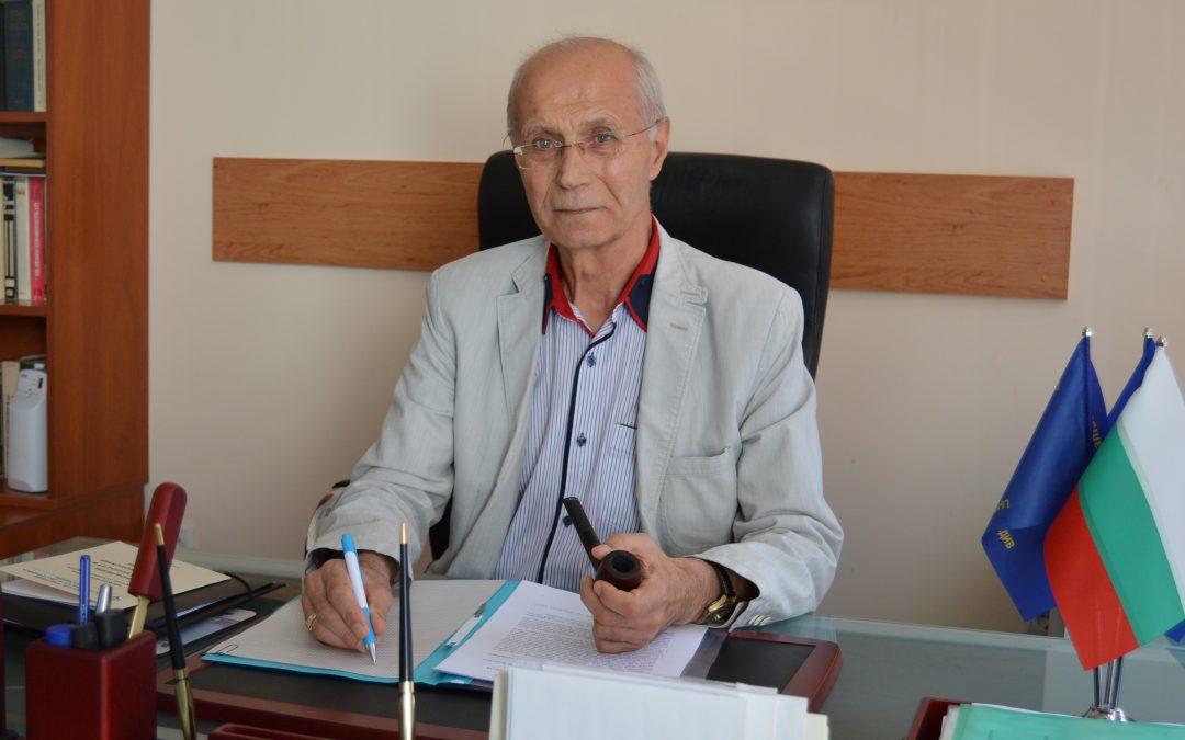 Бившият ректор на ВУСИ чл-кор. проф. Димитър Димитров беше избран за академик