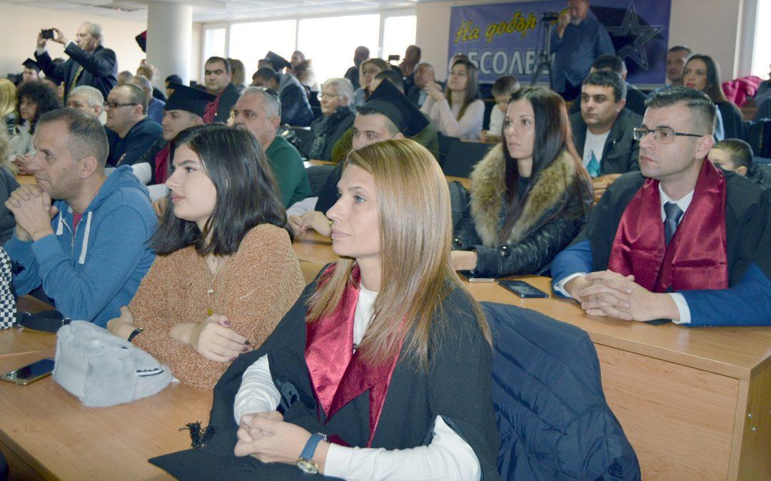 """ВУСИ е лидер в Пловдив по облагаем доход на дипломираните в """"Икономика"""" студенти"""
