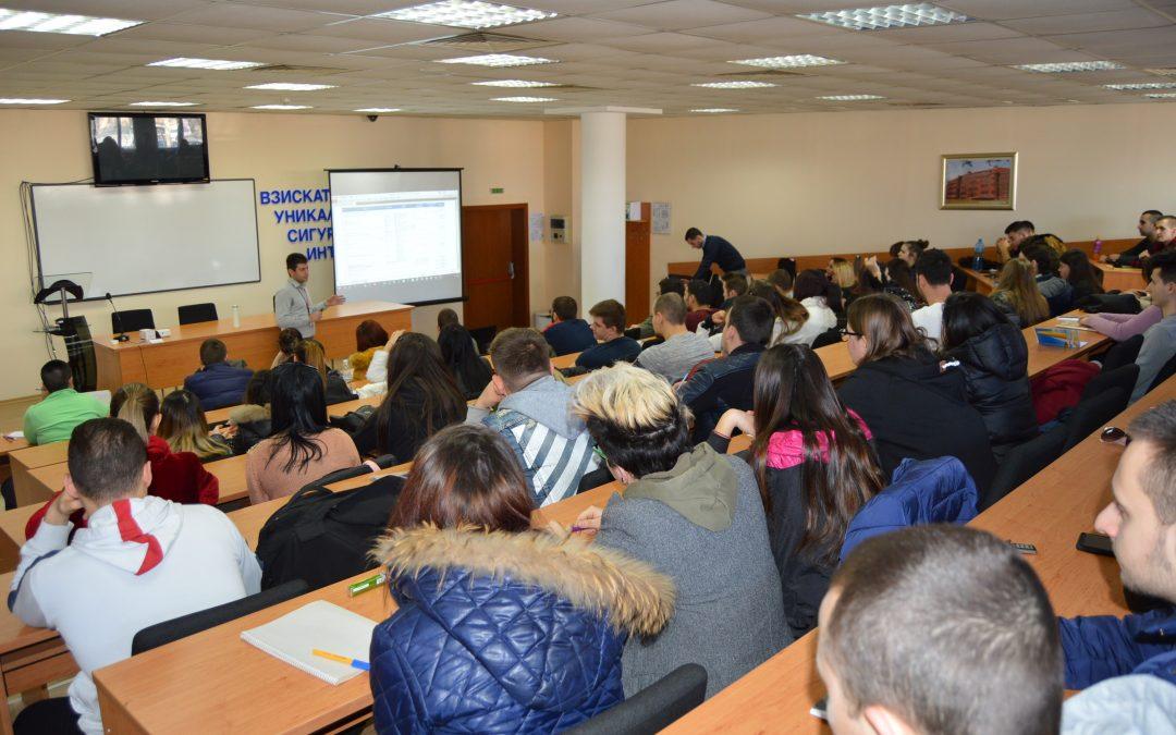 Огромен интерес към курсовете за електронните системи за сигурност на Dahua Technology във ВУСИ
