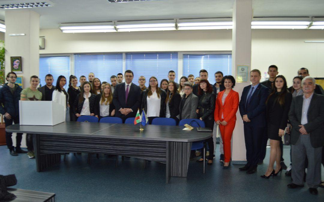 Студенти на ВУСИ посетиха Пловдивската прокуратура в Деня на отворените врати