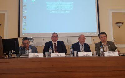 Ректорът на ВУСИ проф. Георги Манолов  с участие на изключително престижна международна конференция в Москва
