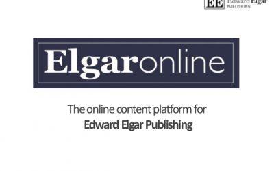 Достъп до колекции с електронни книги от Edward Elgar Publishing